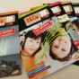 Titel verschiedener X&Co.-Magazine. Nach fünf Jahren gestaltete Valeska Sauerbaum das Relaunch des Kindermagazins.